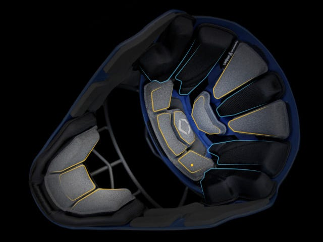 EvoShield PRO-SRZ Catcher's Helmet Interior