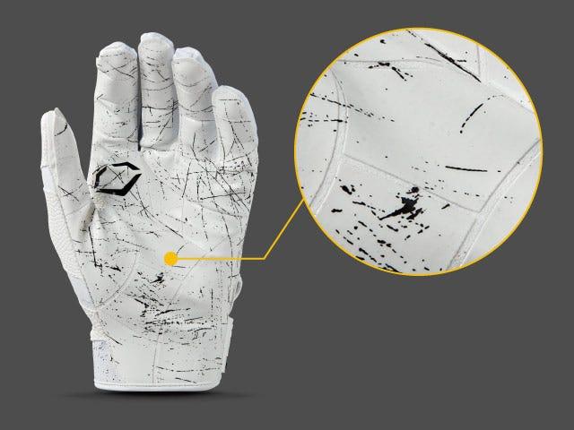 TackTech™ segmented palm on Burst Gloves
