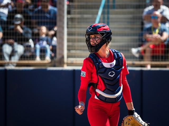 EvoShield-Catcher's-Gear-Aubree-Munro-USA-Softball