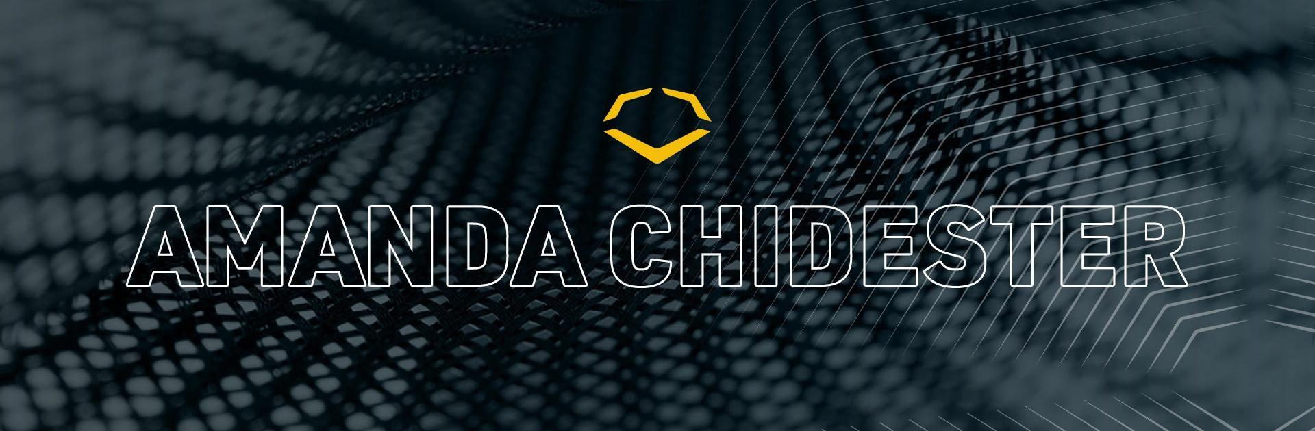 Amanda-Chidester-EvoShield-Catcher's-Gear