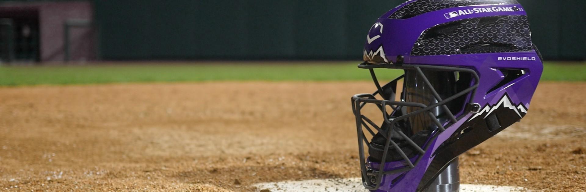 Evoshield-Home-Run-Derby-Catchers-Helmet-Pro-SRZ-Major-League-Baseball