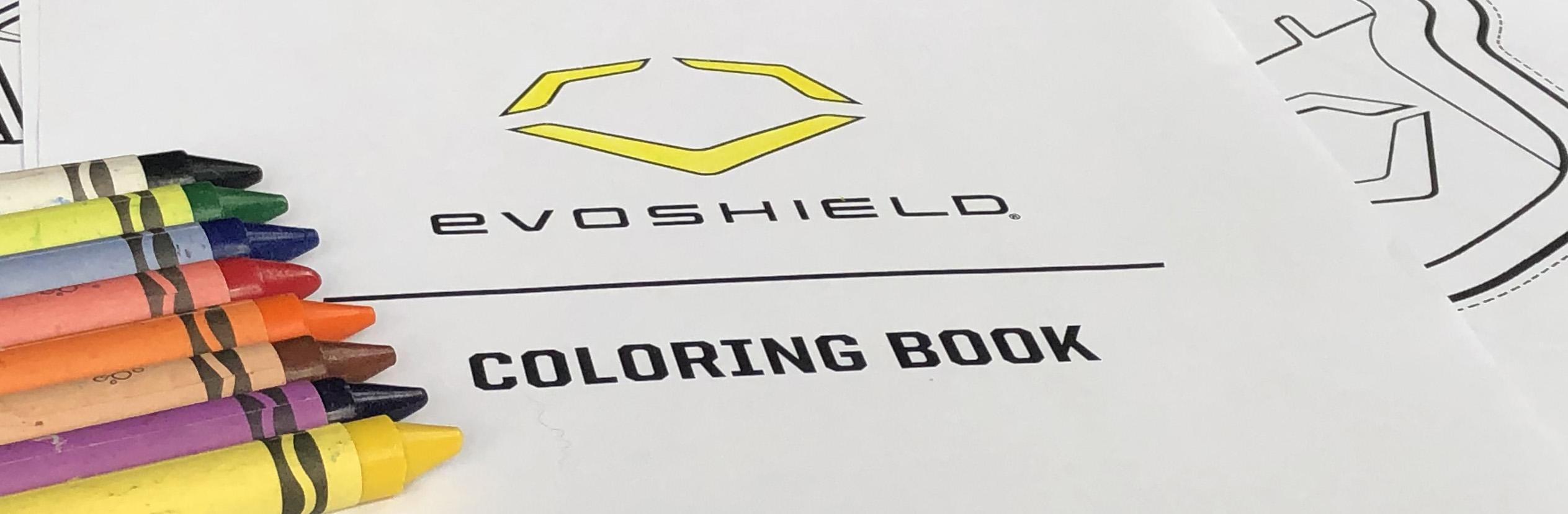 EvoShield Coloring Book